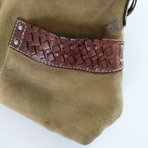 Fossil Bags - Fossil Suede and Leather Shoulder Bag